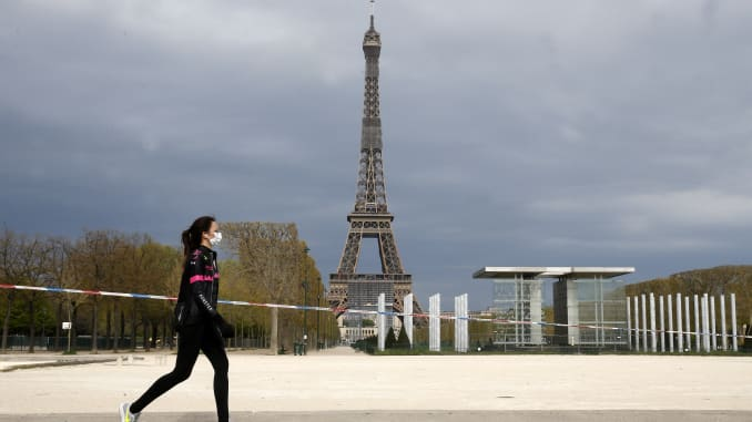 France enters recession as lockdown triggers worst quarter since 1945