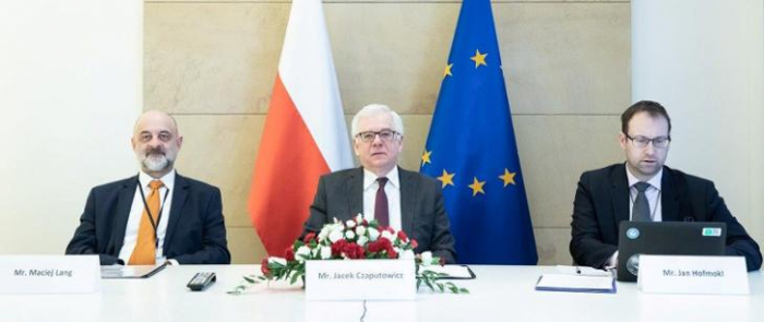 V4 foreign ministers hold video conference on Eastern Partnership