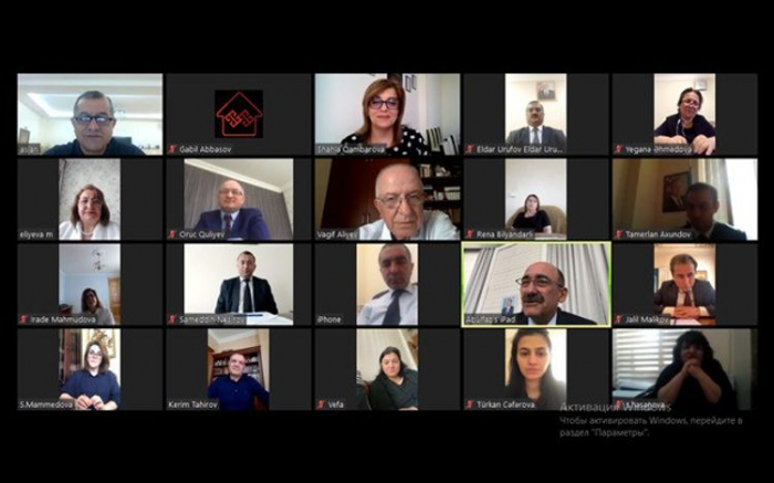 Nazirin iştirakilə video-konfrans keçirilib