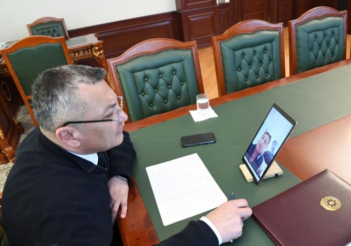 Dövlət Komitəsinin sədri növbəti videoqəbul keçirib