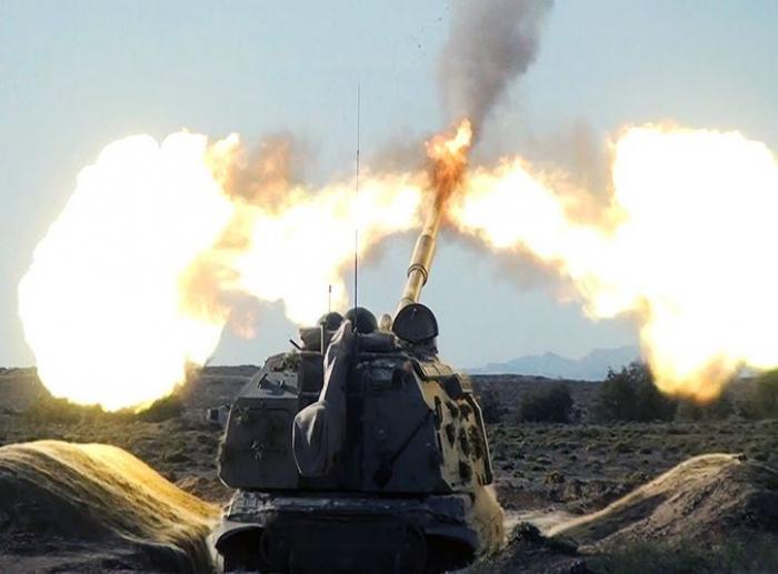 Artillery units carry out combat firing -  VIDEO