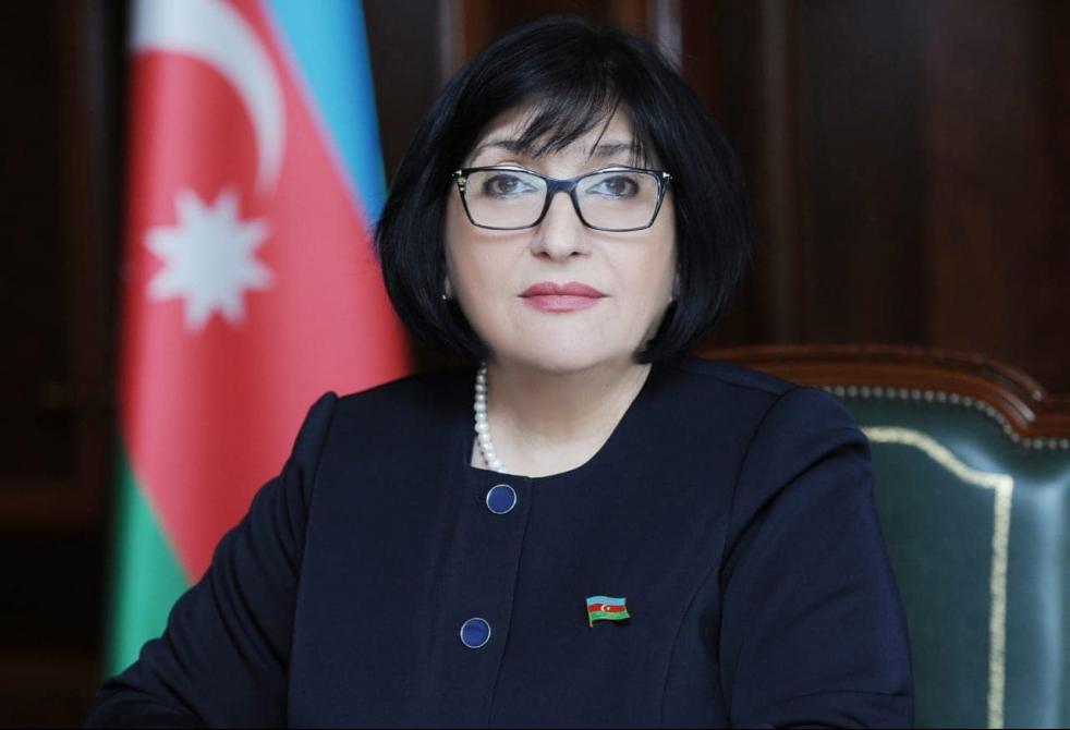 Sahibə Qafarova spiker kimi ilk müsahibəsini verdi
