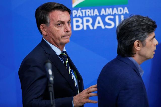 Bolsonaro fires Brazil