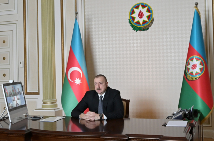 President Ilham Aliyev holds videoconference with ministers of MLSP and economy