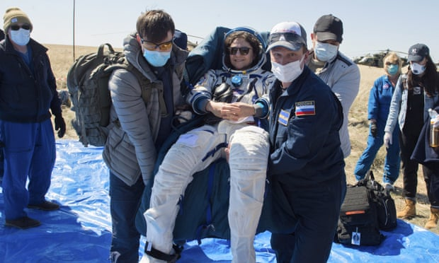 Life, but not as they knew it: ISS crew return to Earth transformed by Covid-19