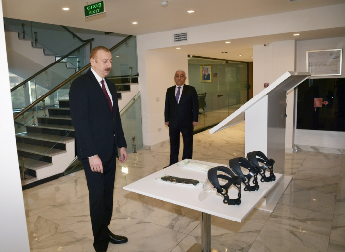 President Ilham Aliyev inaugurated newly-reconstructed main complex of AzerEnergy OJSC -  PHOTOS