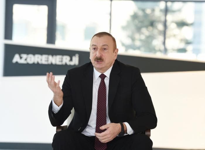 """""""Son illər ərzində hər zaman müsbət rəylər eşidirəm"""" - İlham Əliyev"""