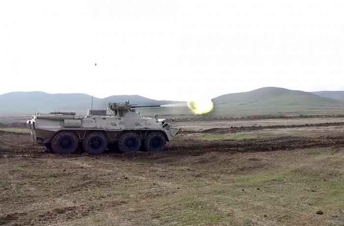 Azerbaijan army improves combat readiness of APC crews - VIDEO