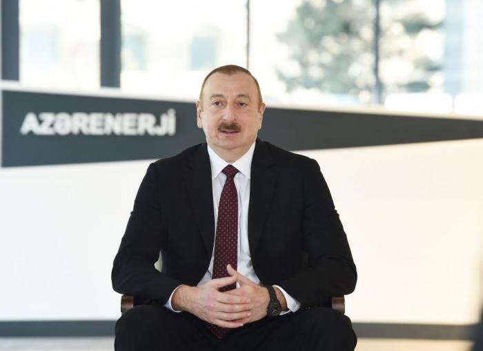 Read the full transcript ofPresident Ilham Aliyev