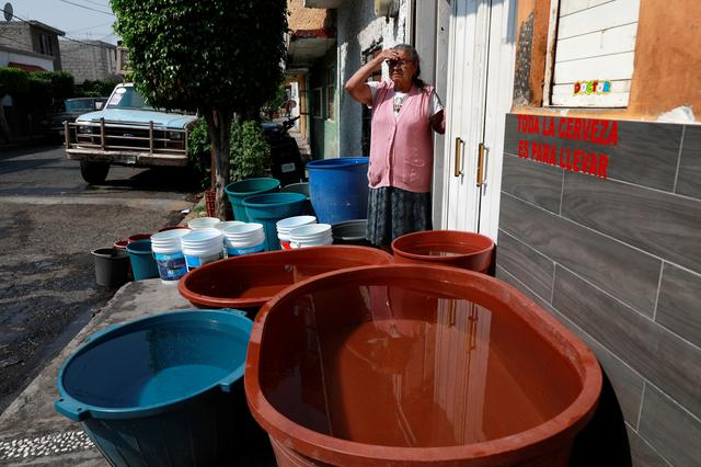 Water shortage leaves poorer Mexicans high and dry in coronavirusfight