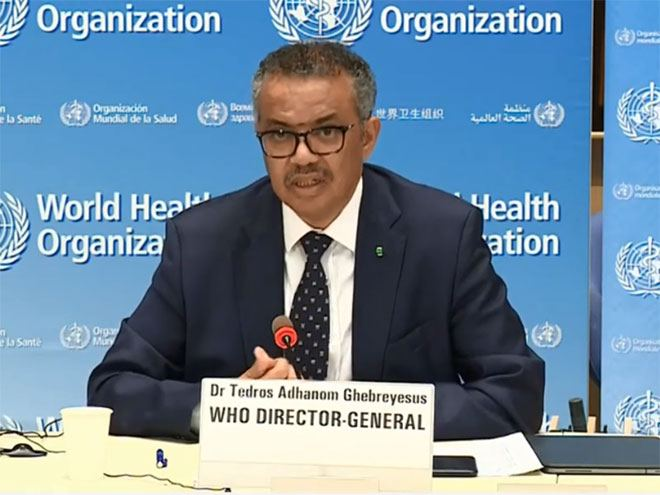 WHO director-general thanks Azerbaijani president for support in fight against coronavirus