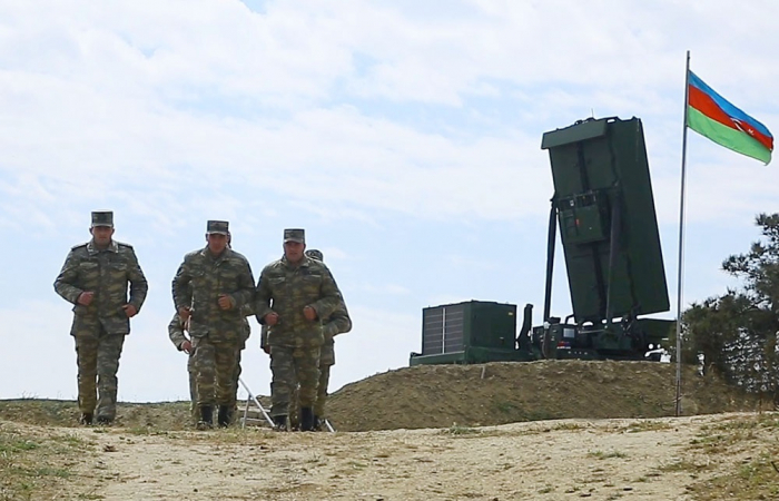 Azerbaijan Air Defence Units began training -   VIDEO