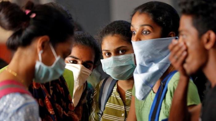 Hindistanda da koronavirusa yoluxanlar artır