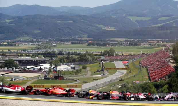 F1 plans Austrian Grand Prix to start season with races behind closed doors