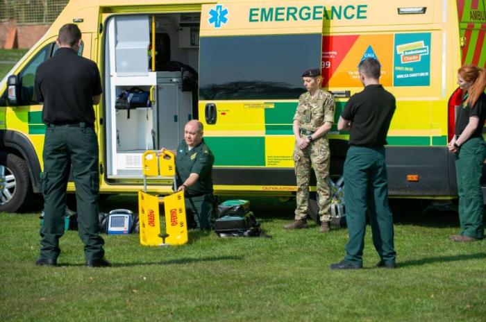 Royaume-Uni:  6 mois de prison pour avoir volé du matériel médical