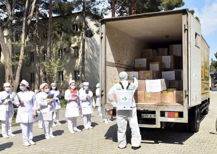 Çin Sumqayıta tibbi yardım göndərdi -    FOTO
