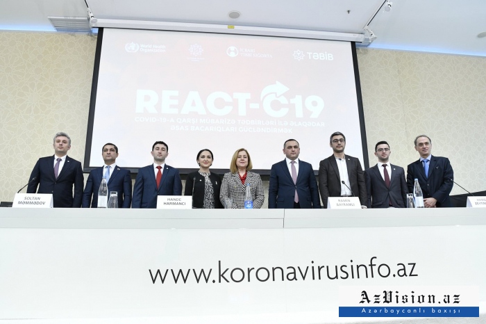 REACT-C19 project on combating coronavirus launched in Azerbaijan