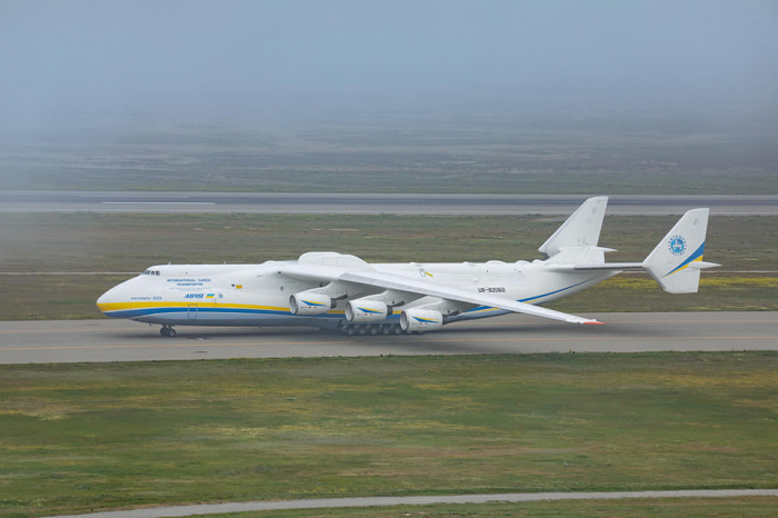 Largest Aircraft in the world lands in Baku -  PHOTO, VIDEO