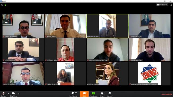 YAP-ın təşkilatçılığı ilə videokonfrans keçirilir