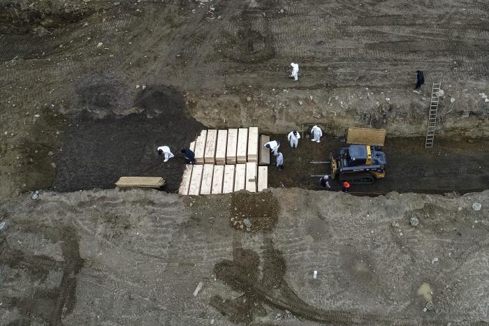 New York City burying COVID-19 victims, unclaimed bodies on hart island - Mayor