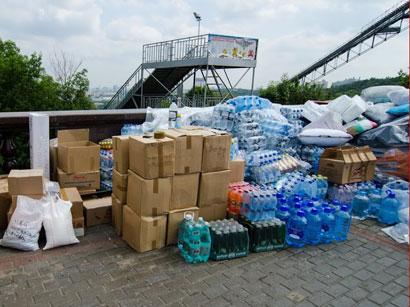 Azerbaijani Embassy in Georgia delivers humanitarian aid to Marneuli