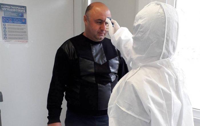 Erməni polislər Qarabağda koronavirusa tutuldu