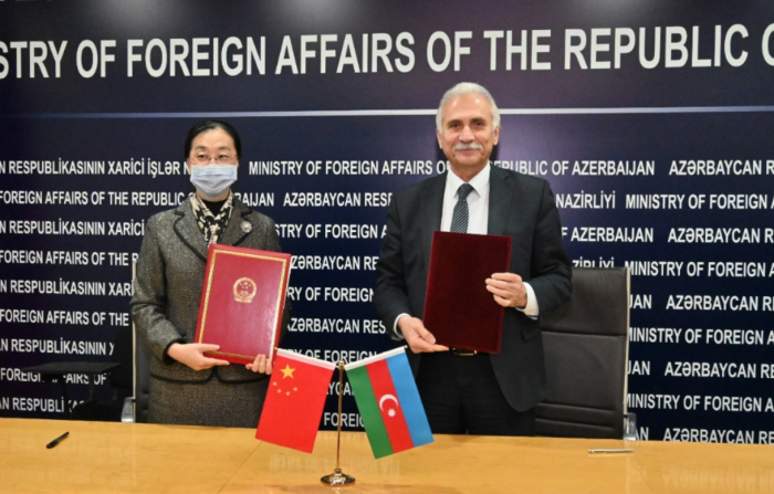 Azerbaijan, China sign assistance acts to fight COVID-19
