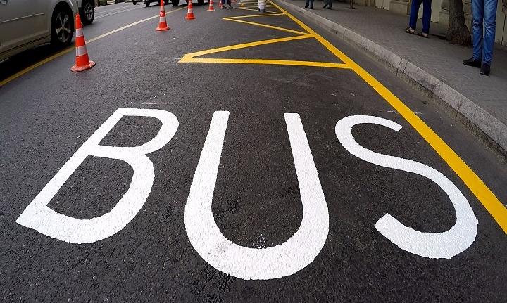 Avtobus dayanacaqları dezinfeksiya edilir - VİDEO