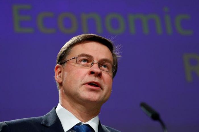 EU open to all options to finance coronavirus fight: Dombrovskis