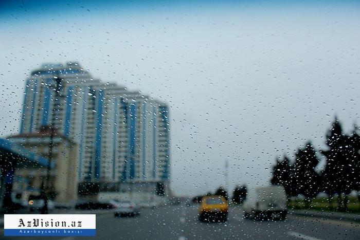 Ölkə ərazisində yağış, qar yağıb - FAKTİKİ HAVA
