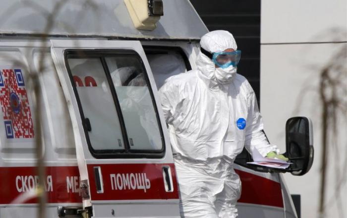 Rusiyada bir gündə 1175 nəfər koronavirusa yoluxub