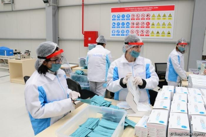 Medical masks produced in Azerbaijan to go to pharmacies next week