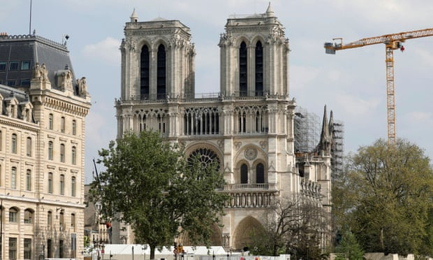 One year after Notre Dame fire, officials struggle to keep restoration on track