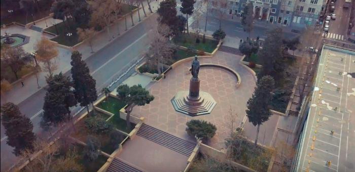 Coronovirus:  des images de drones montrent des rues désertes de Bakou -  NO COMMENT