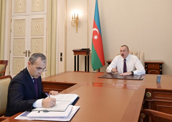Ilham Aliyev: It is necessary to try to maximize domestic demand through domestic production