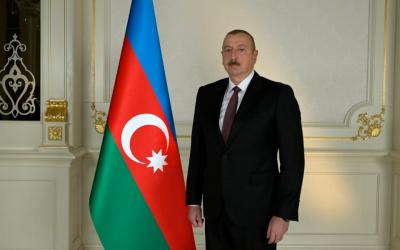 إلهام علييف يخاطب شعب أذربيجان