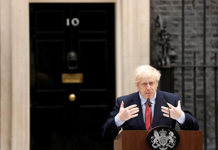 Too risky to relax coronavirus lockdown yet -British PM Johnson