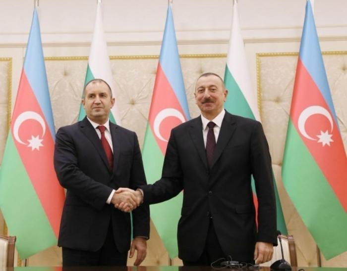 """رومن راديف:  """"ستتطور بلغاريا التعاون الاستراتيجي مع أذربيجان"""""""