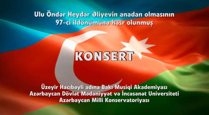 Ümummili liderin 97-ci ildönümünə həsr olunmuş onlayn konsert - VİDEO