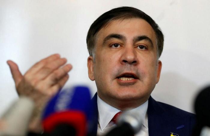 """""""Zelenskiyə kömək edirəm, başqa ambisiyam yoxdur"""" - Saakaşvili"""