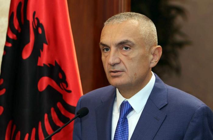Albaniya Prezidentindən İlham Əliyevə təbrik