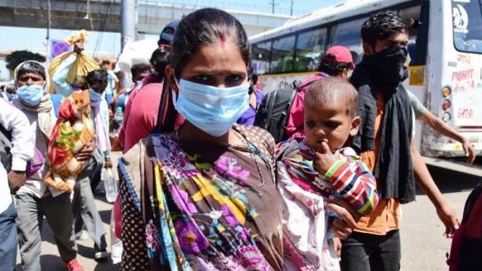 Hindistanda koronavirus sürətlə yayılır