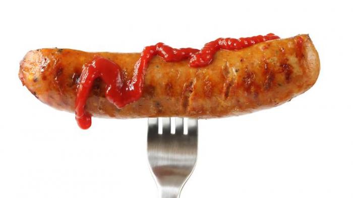 Dieser Ketchup ist zu empfehlen