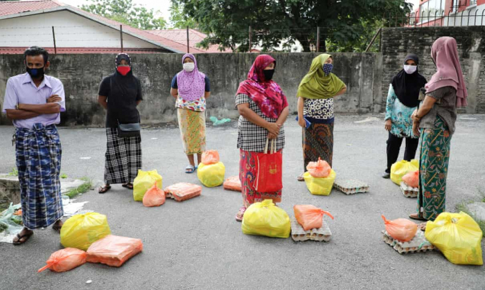 Malaysia cites Covid-19 for rounding up hundreds of migrants