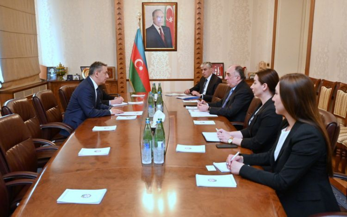 Azerbaijani FM receives newly appointed Ambassador of Uzbekistan to Azerbaijan