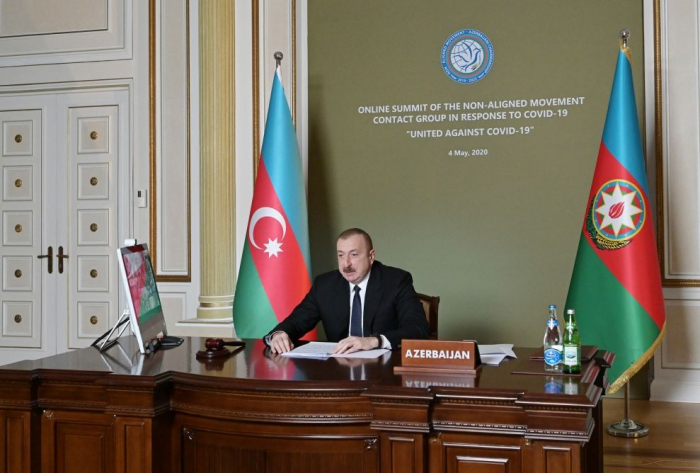 Azerbaijan makes significant contribution to strengthening of solidarity and co-op against coronavirus on global level