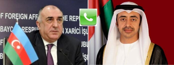 Azerbaijani, United Arab Emirates' FMs have phone talk