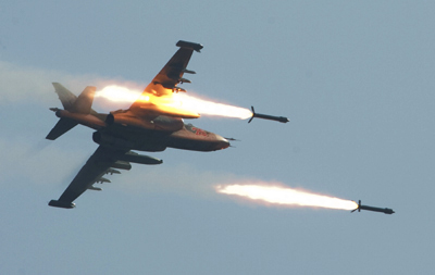 Israeli army strikes Hamas sites in Gaza Strip