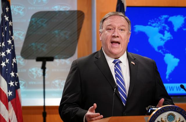 Pompeo blames China for hundreds of thousands of virus deaths, deniesinconsistency