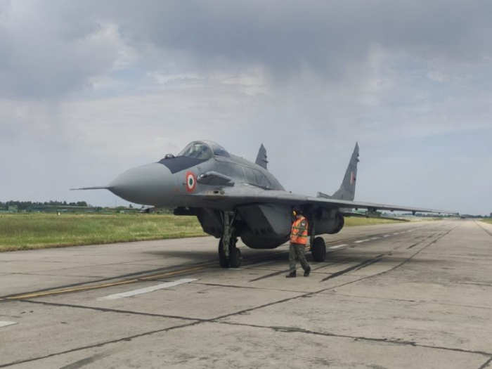 Indian MiG-29 fighter jet crashes after technical failure